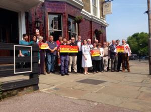 Labour out in force in the ultra-marginal Blackheath Westcombe ward in May 2014: how can this enthusiasm be harnessed to change our Town Halls for the better?