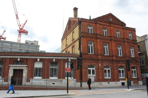Woolwich Post Office shortly before its demolition in 2011