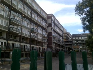 ...and the estate today, awaiting demolition