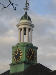 The Clocktower at Maze Hill: finally about to start telling the right time