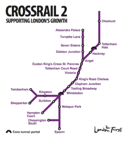 Crossrail Two won't serve Greenwich - but Crossrail lines Three or Four may need to