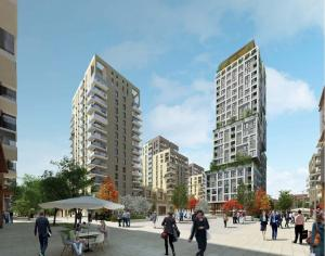 """Kidbrooke Village"" may soon have a 25-storey tower as its centrepiece - four times higher than what Berkeley Homes originally said they would build"