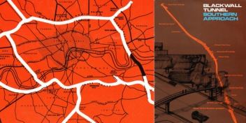 "The Blackwall Tunnel Southern Approach - shown in black on this brochure from the late 1960s - was supposed to form part of Ringway One, a ""Motorway Box"" around inner London that would also have driven a six-lane highway through Blackheath Village"