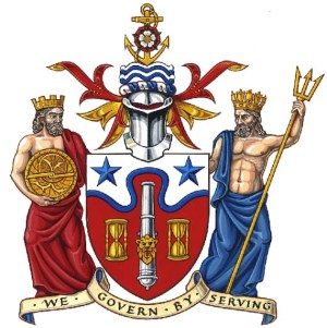 The Royal Borough's new crest. The hysteria over Greenwich's new status said a great deal about the invincibility of the Monarchy, and the borough's innate conservatism