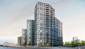 The huge new riverside towers now being built in Woolwich: the right price to pay for Crossrail?