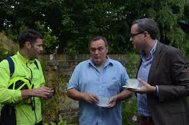 Spencer Drury (centre) is a thoroughly decent man, but he''ll struggle to unseat Clive Efford in Eltham next May