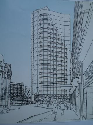 Hopkins proposal from 1990s for Terminus Place