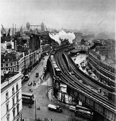 London Bridge station 1958